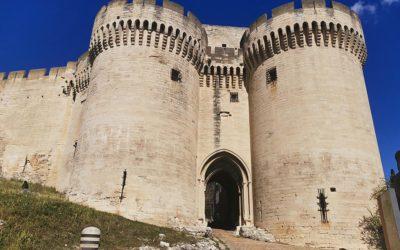 Visite virtuelle du fort Saint-André à Villeneuve-lès-Avignon